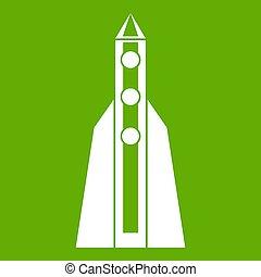 Rocket icon green