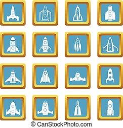 Rocket icons azure