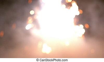 Rocket launcher fireworks - Launch a festive firework,...