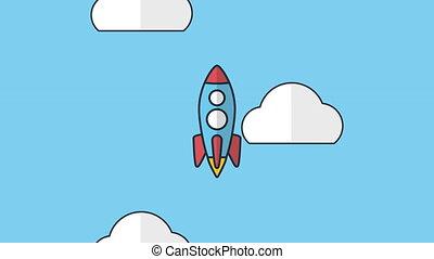 rocket launcher start up animation - rocket launcher start...