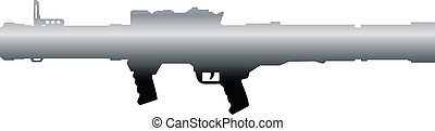 rocket launcher_1 - personal rocket launcher vector...