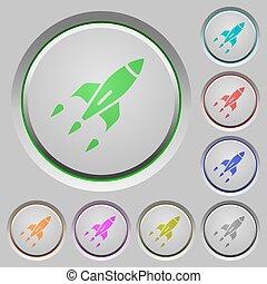 Rocket push buttons