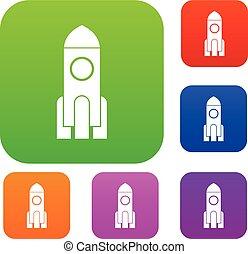 Rocket set collection