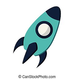 rocket startup company symbol vector illustration graphic ...