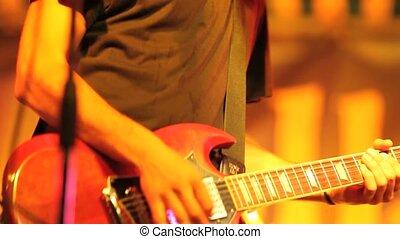 rockgruppe, bühne