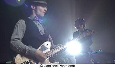 rockgruppe, concert
