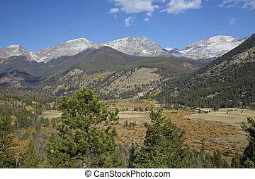 Rockies in Fall
