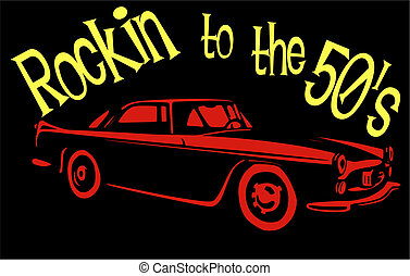 Rockin to the 50's.... - Chevies were rockin to the fifties,...
