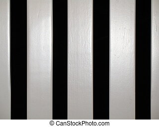 rocking chair slats - black and white stripes, great background