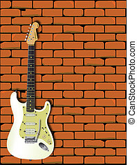 Rocking Guitar Wall
