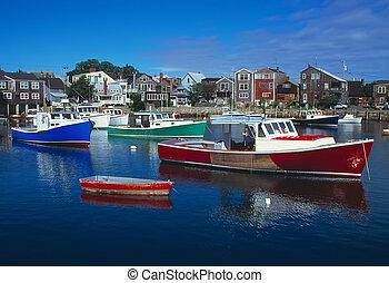 Rockport Massachusetts Harbour - Rockport Massachusetts ...