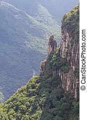Rocks at Fortaleza Canyon
