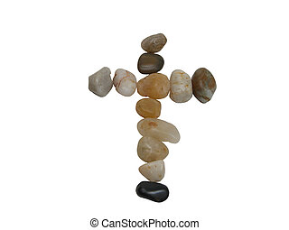 Rocks cross-clipping path