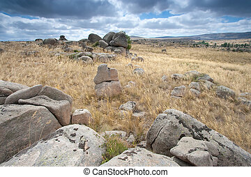 Rocks in Avila, Castilla y Leon (Spain)