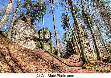 Rocks in Bohemian Paradise