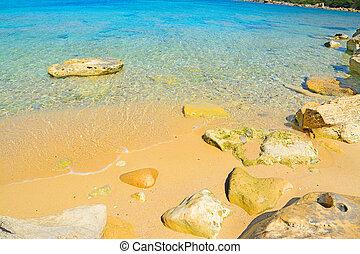 rocks in Capo Testa, Sardinia