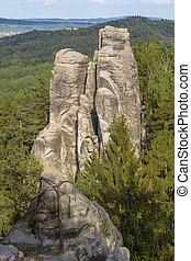Rocks in Czech Paradise