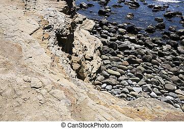 Rocks in San Diego