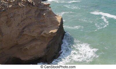 Rocks in sea, morocco