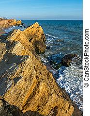 Rocks near the Black Sea coast