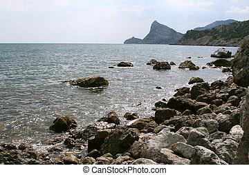 Rocks of the Black Sea coast