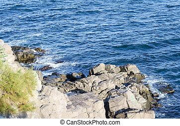 Rocks of the Black Sea