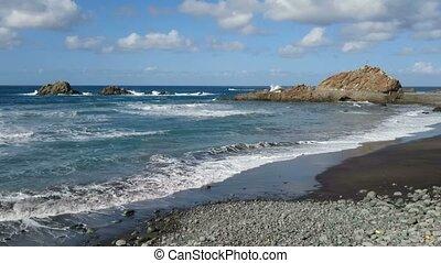 Rocks on the coast of Tenerife