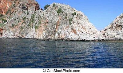 Rocks on the Turkish coast