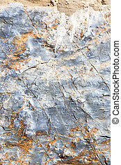rocks stone orange gneiss in the of morocco