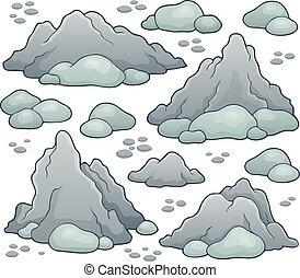 Rocks thematic set 1