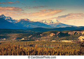 rocky βουνήσιος , banff δημόσιος αγρός