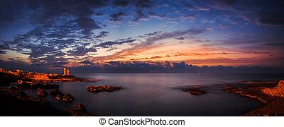 Rocky Beach before Sunrise