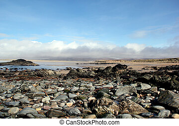 Rocky Beach on Islay, Scotland