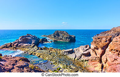 Rocky coast of Tenerife