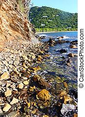 Rocky Coastline of Tortola