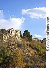 Rocky Colorado Landscape