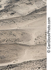 Rocky Desert at the Skelleton Coast (Namibia) - Rocky Desert...