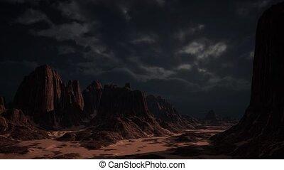 Rocky Desert Landscape - rocky desert landscape , Red Rock...