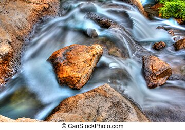 Rocky Falls in High Dynamic Range - The silky water effect...
