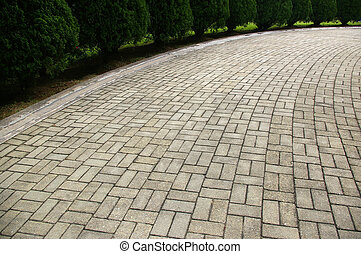 Rocky floor