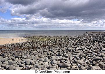 rocky foreshore