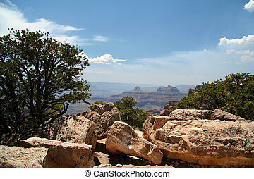 Rocky Grand Canyon Overlook