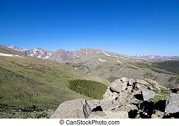 Rocky Mountain Alpine Vista