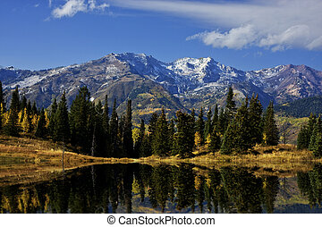 Rocky Mountain Fall - Fall colors in the Rocky Mountainswith...