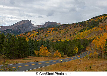 Rocky Mountain National Park and Bear Lake Road
