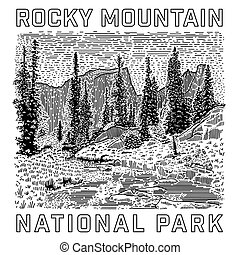 Rocky Mountain National Park Icon
