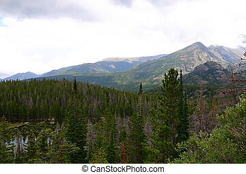 Rocky Mountain National Park in Colorado, USA.