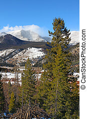 Rocky Mountain National Park - Winter Scenery of Rocky...