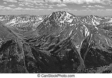 Rocky Mountain Scenery, Western USA