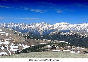 Rocky Mountains, Colorado - Rocky Mountain National Park in...